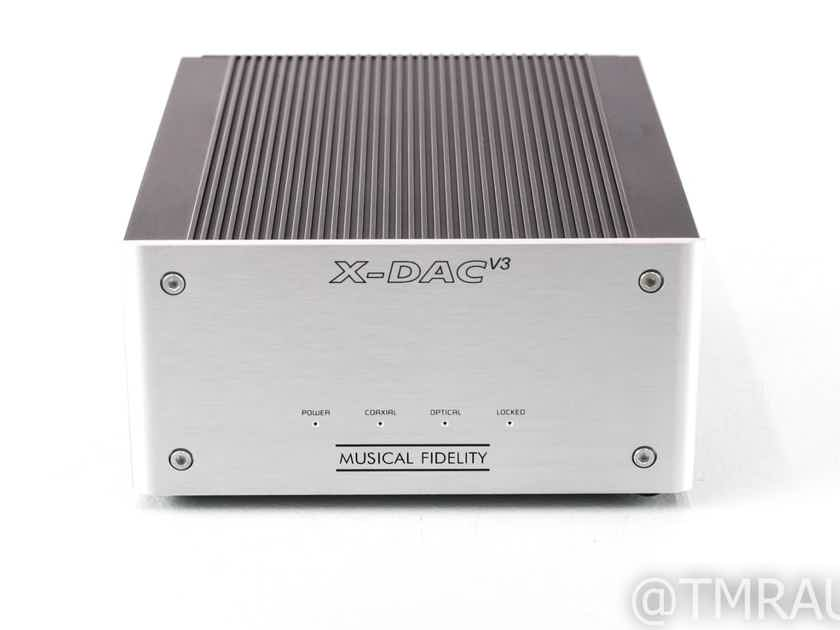 Musical Fidelity X-DAC V3 DAC; D/A Converter; XDACV3 (29034)
