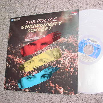 the Police Synchronicity concert