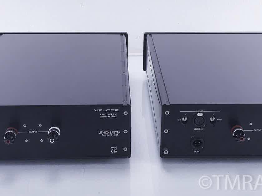Veloce Lithio Series Saetta Hybrid Mono Amplifiers; Pair (3 yrs remaining warranty)(10367)