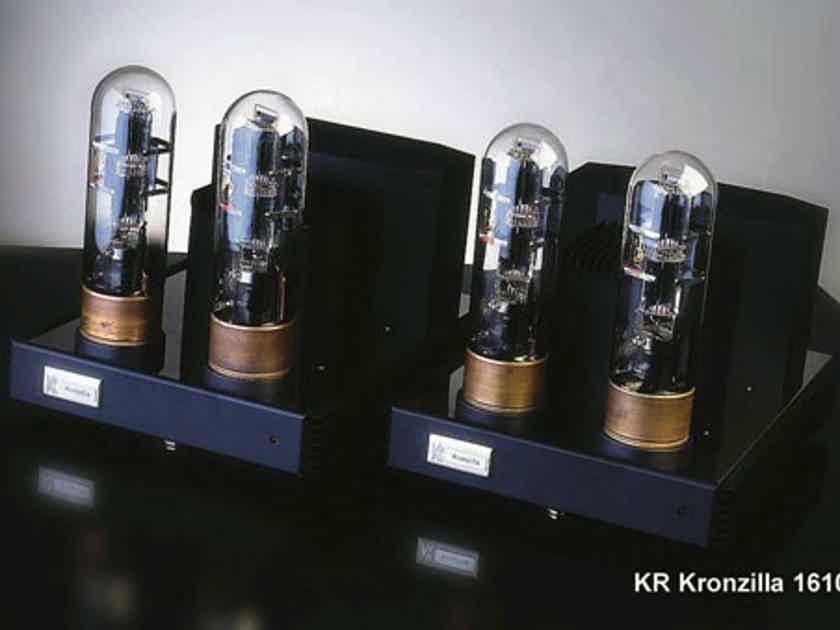 KR Audio Kronzilla DXL Dual Mono Block Tube amps