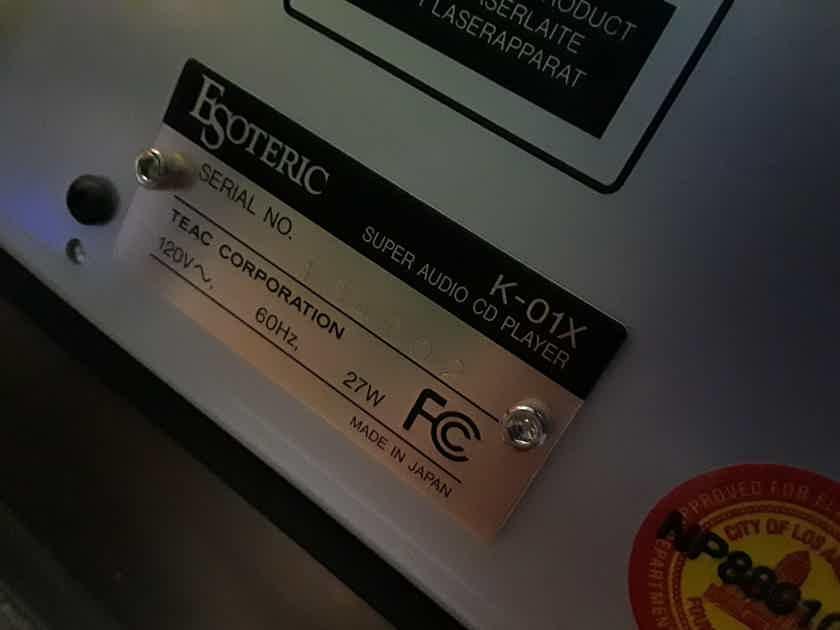 Esoteric K01X