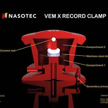 Nasotec VEM X Record Clamp - NEW IMPROVED MODEL