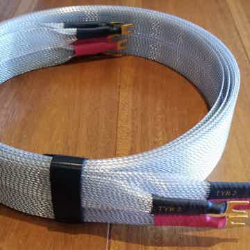Nordost Tyr2 Speaker Cables, 3 meter Spade Terminals