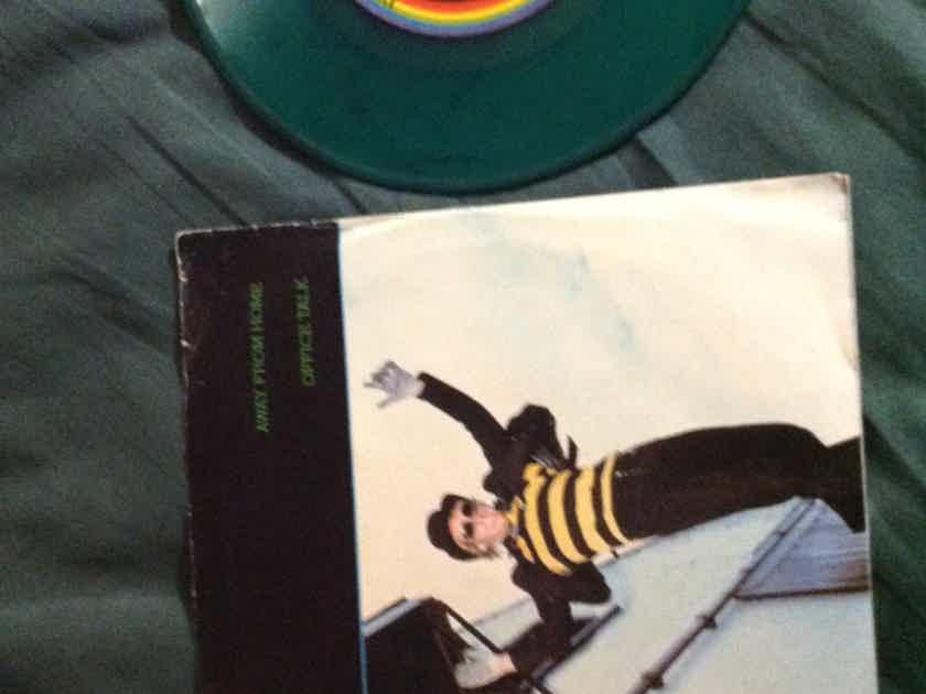 Klark Kent - Away From Home/Office Talk I.R.S. Records Green Vinyl Single Vinyl NM