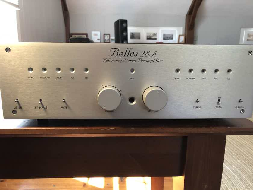 FOR SALE: Belles 28a Reference Preamplifier