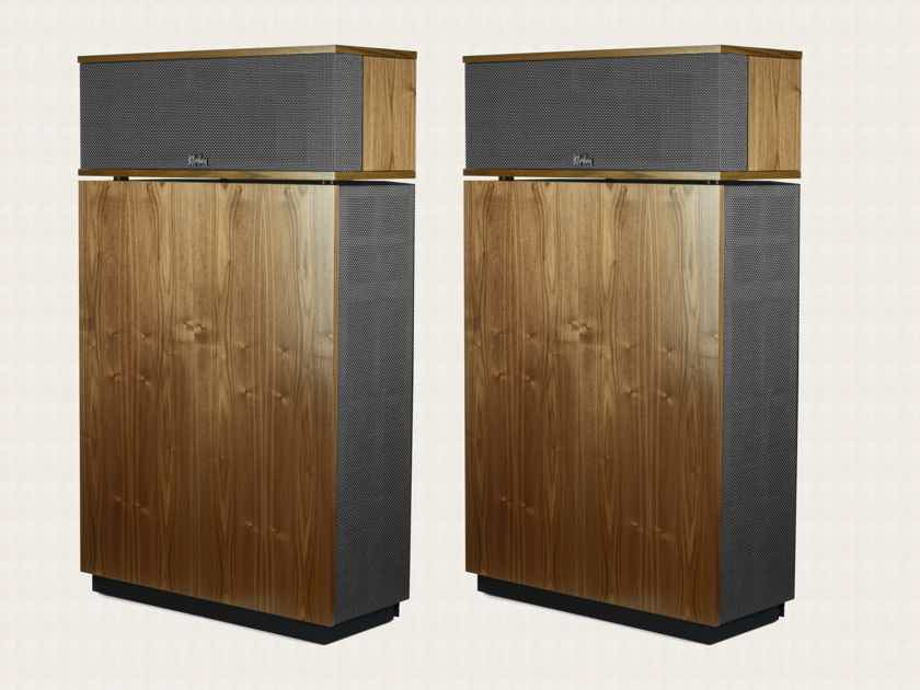 Klipsch Klipschorn AK6 Speakers (Walnut): EXCELLENT Condition Trade-In; Full Warranty; 30% Off