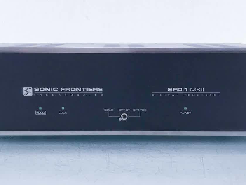Sonic Frontiers SFD-1 MkII Tube Digital Processor DAC; D/A Converter; HDCD (15405)