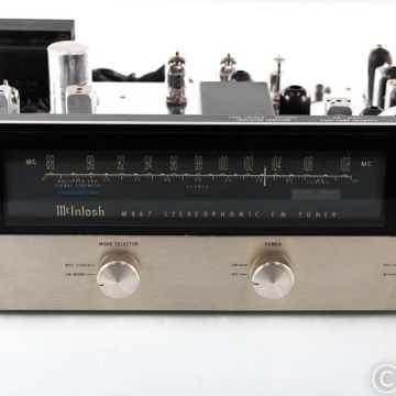 McIntosh MR67 Vintage Stereo Tube FM Tuner