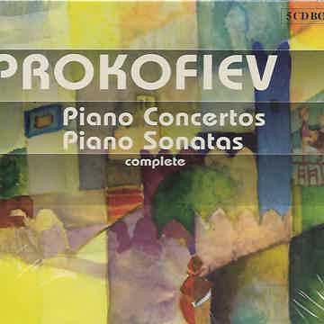 Prokofiev Sonatas & Concertos Yefim Bronfman - Zubin Me...