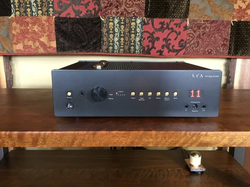 Linear Tube Audio (LTA) Z40 Integrated Amplifier |  FANTASTICO !!!