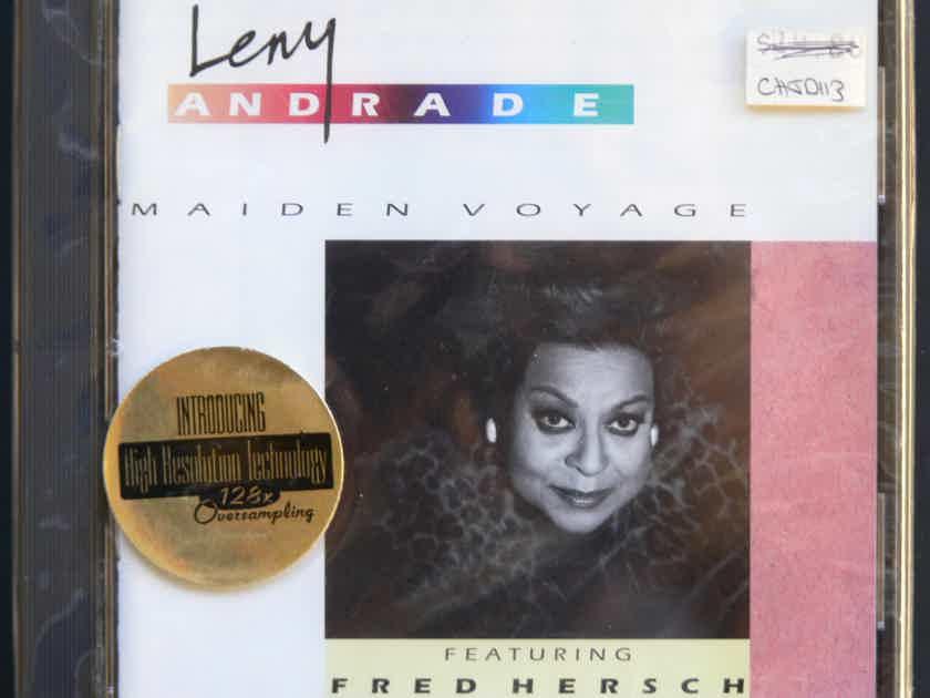 CHESKY CD LENY ANDRADE ** SEALED **  - Maiden Voyage