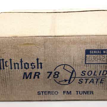 McIntosh MR 78