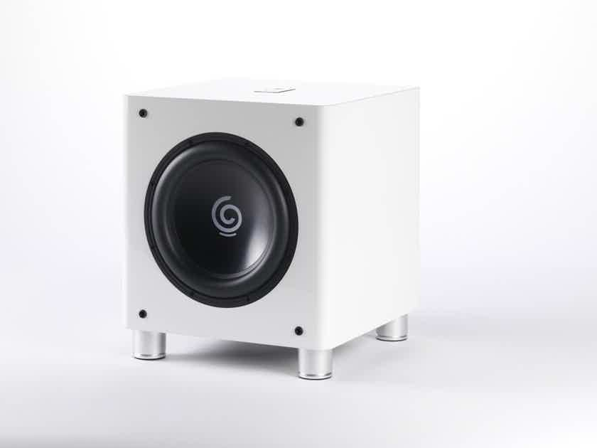 """Sumiko S.9 10"""" Powered Subwoofer; White; S9 (New - Closeout) (20144)"""