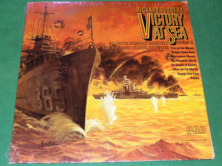 RICHARD RODGERS - VICTORY at SEA VOL. 2 -  - RCA STEREO ANL1-1432 -  ** NEW/SEALED **