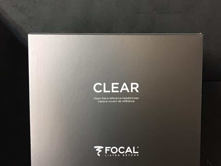 Focal CLEAR Headphones Brand New!!