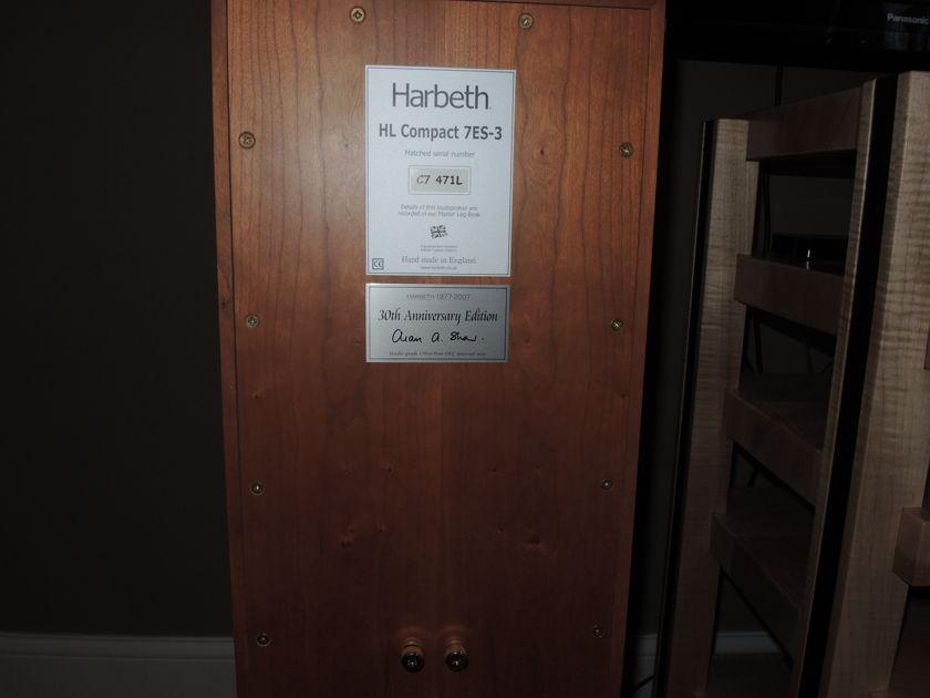 Harbeth  Compact 7 - ES3  30th Anniversary Excellent Condition