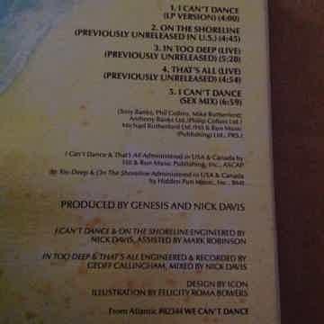 Genesis - I Can't Dance(Sex Mix) Atlantic Records Compa...