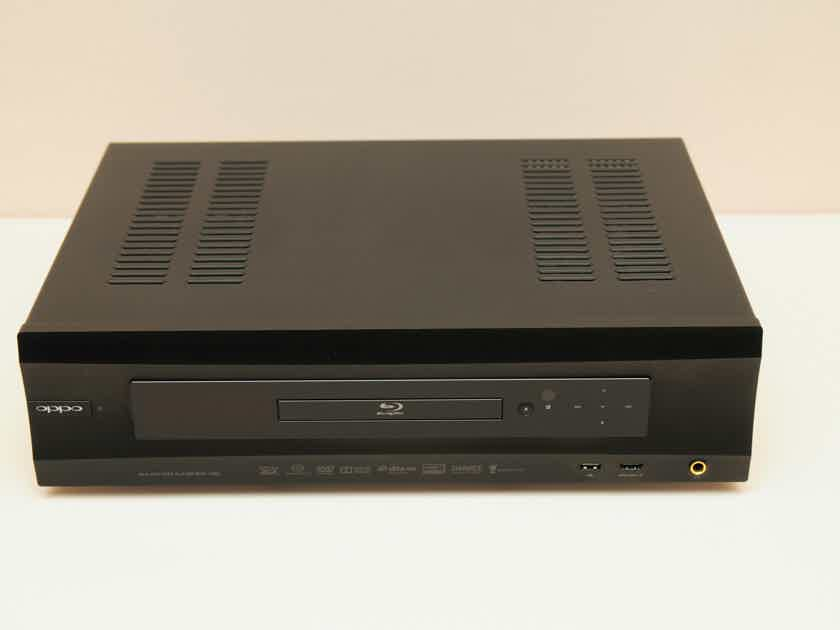 OPPO BDP-105D Darbee Edition CD/SACD/Bluray Player & DAC