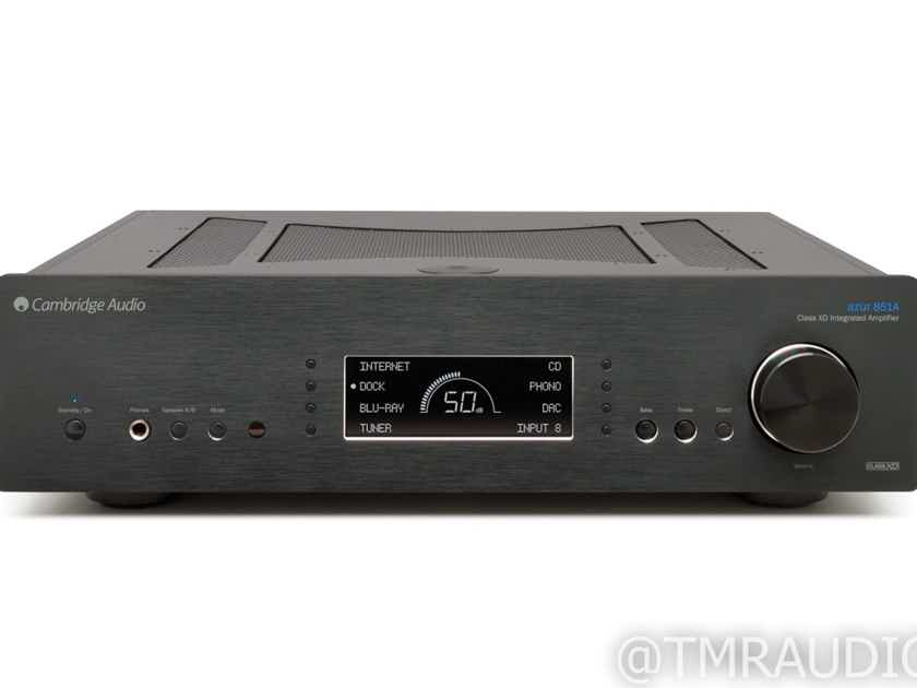 Cambridge Audio Azur 851A Stereo Integrated Amplifier; 851-A; Black (New) (28905)