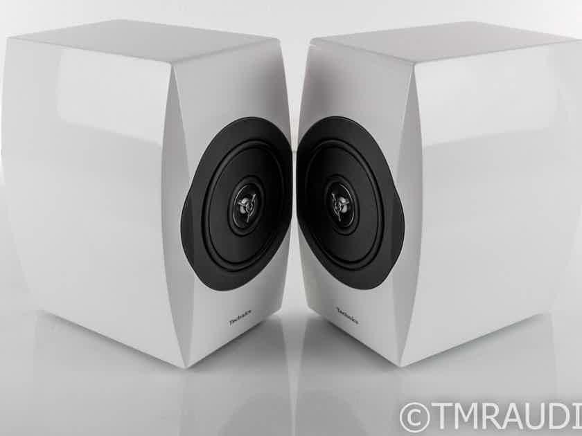 Technics SB-C700 Bookshelf Speakers; SBC700; Gloss White Pair (27057)