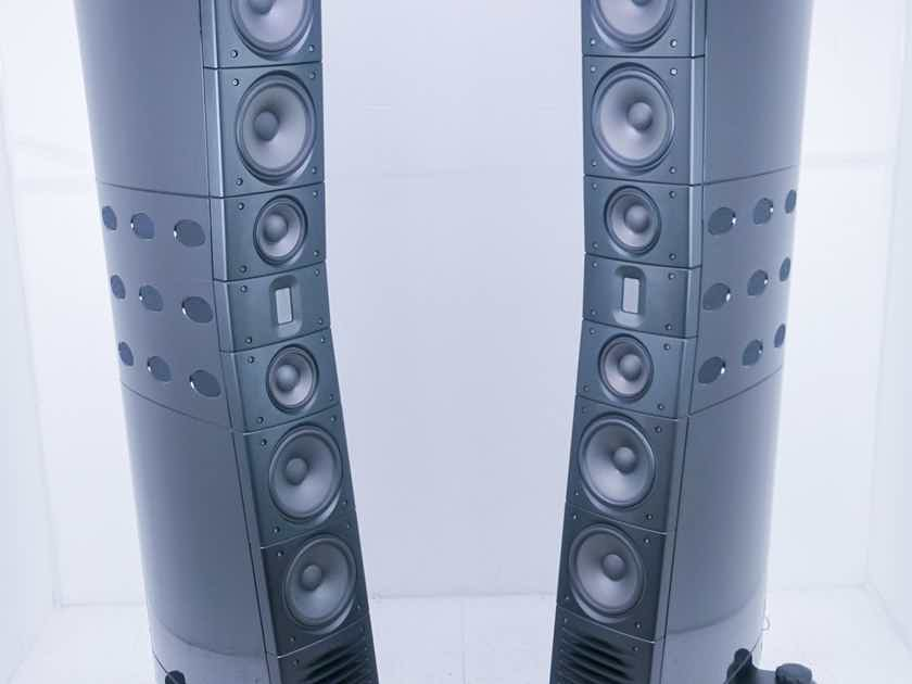 Raidho D-5.1 Floorstanding Speakers Piano Black Pair; D5.1 (15414)