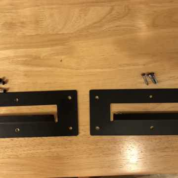 Mounting brackets.