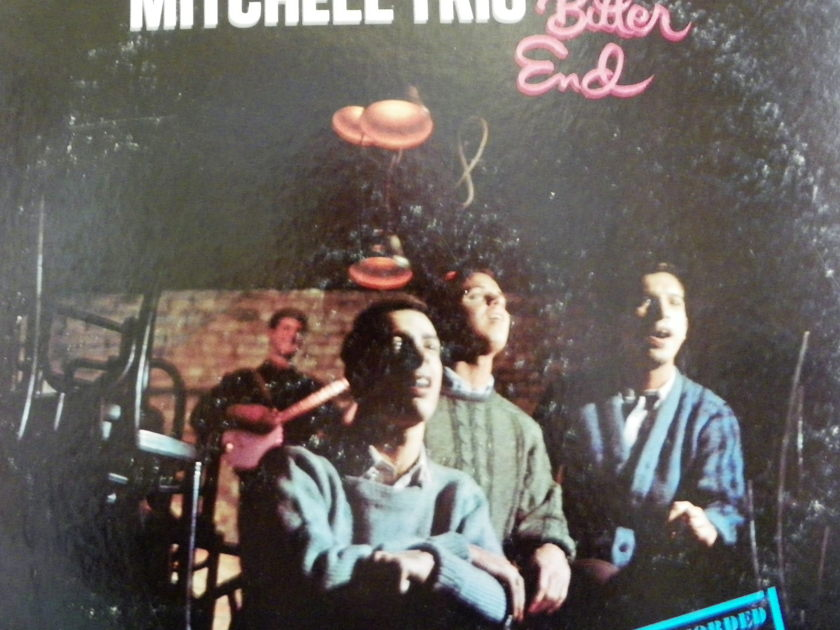 THE CHAD MITCHELL TRIO - AT THE BITTER END 1ST EDITION