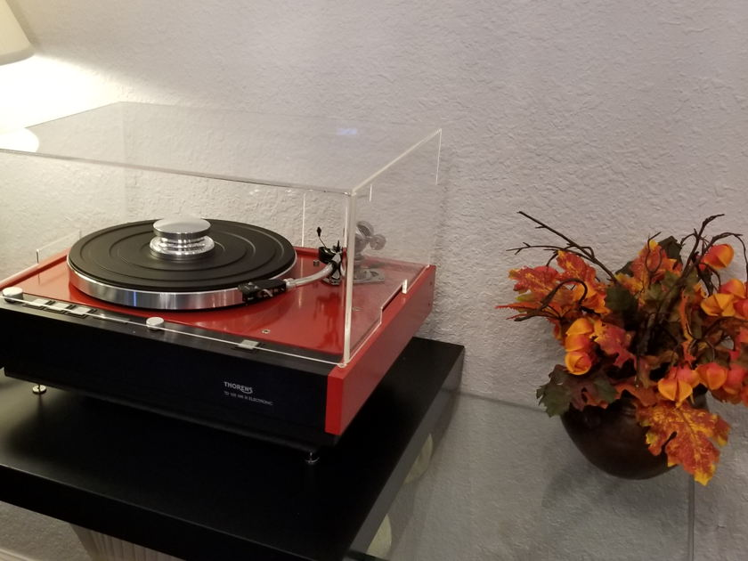 THORENS TD 126 MK III SME 3009 S2 IMPROVED REFERENCE STUNNING PERFORMANCE  AND APPEARANCE !!