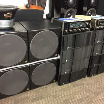 """JBL Synthesis TWO (2) THX Certified Subwoofers............ HTPS-400 12"""" Woofer"""