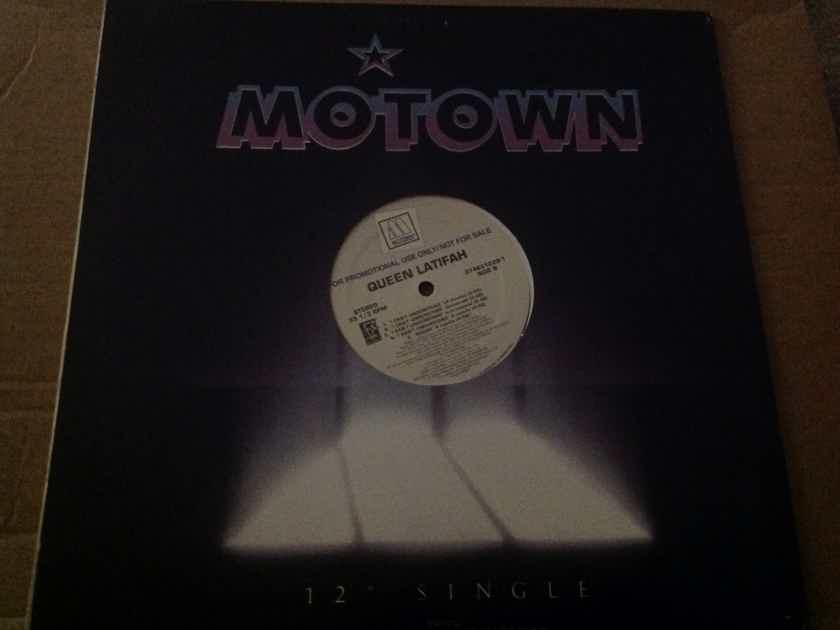 Queen Latifah - Rough/I Can't Understand  Motown Records Promo 12 Inch EP Vinyl NM