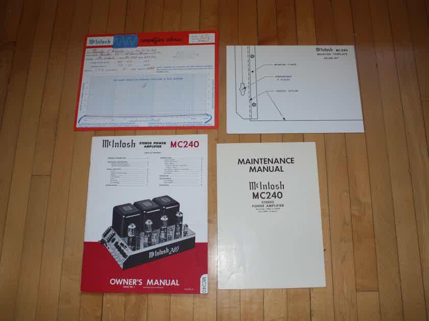 McIntosh MC-240