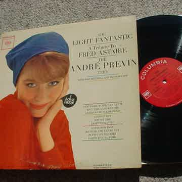 The Andre Previn Trio lp record the light fantastic tribute to Fred Astaire