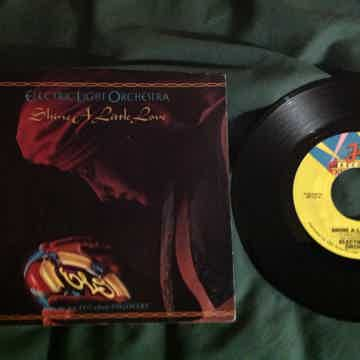 ELO - Shine A Little Love/Jungle Jet Records 45 Single ...