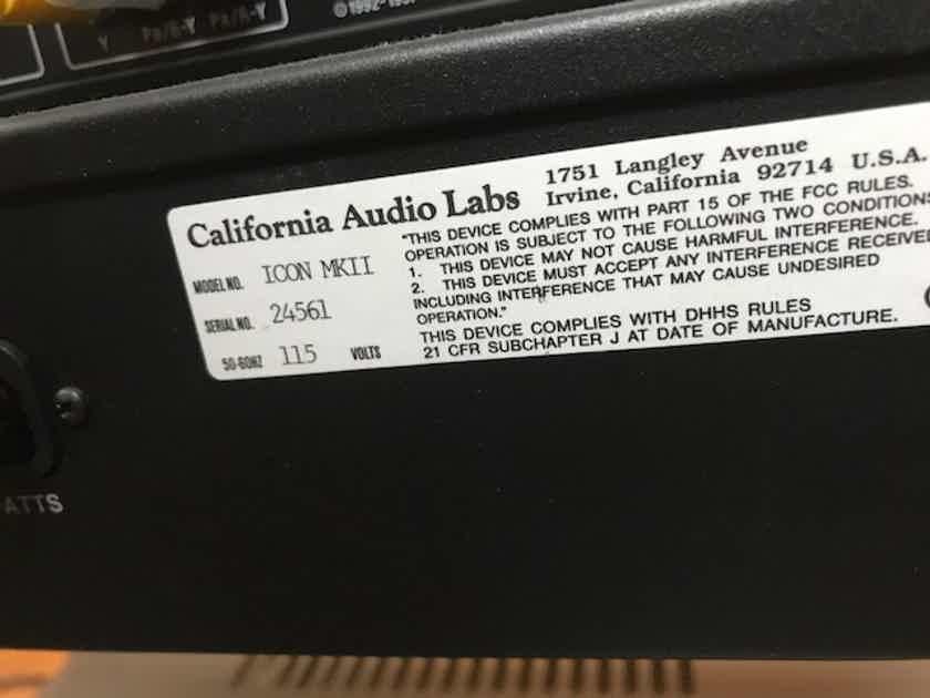 California Audio Labs Icon mkII hdcd