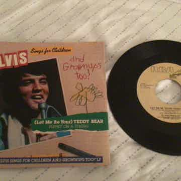 Elvis Presley Promo Mono/Stereo 45 With Picture Sleeve ...