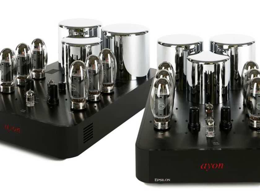 Ayon Audio Epsilon Mono Amps Pure Class A BEST OF SHOW 8 YEARS