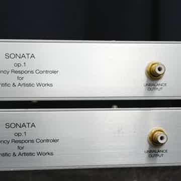 Sonata OP.1 ソナタ OP.1 パラメトリックイコライザー OP.1