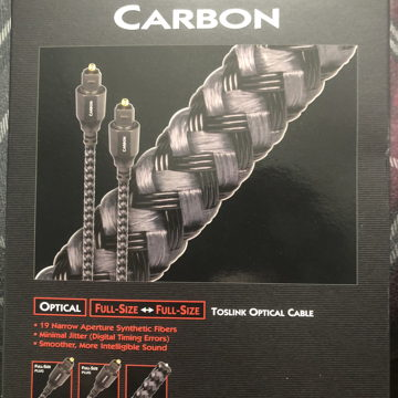 Carbon toslink (optical )