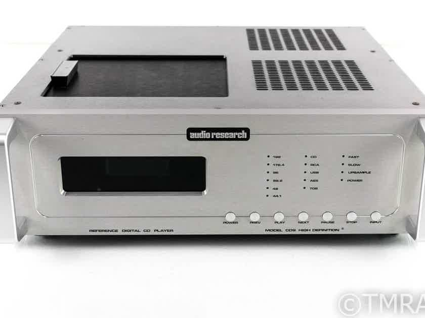 Audio Research REFCD9 CD Player / DAC; D/A Converter; Reference CD-9 (26108)