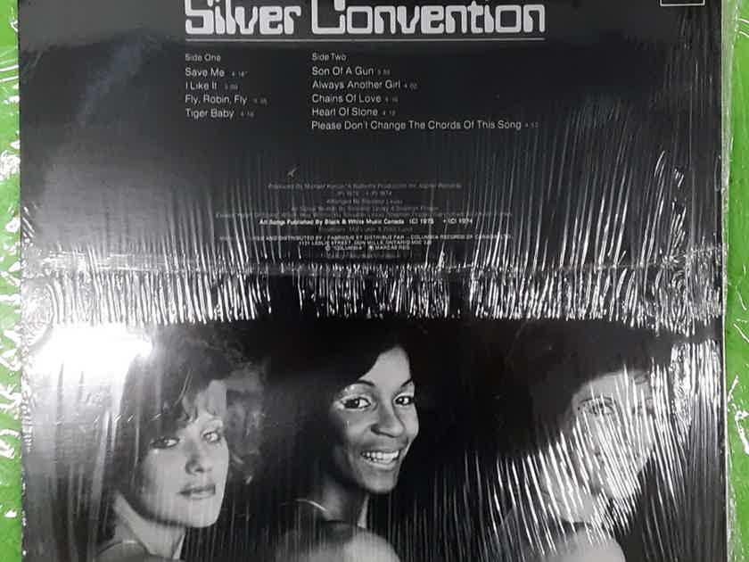 Silver Convention - Silver Convention 1975 CANADA SEALED VINYL LP CBS RECORDS ES 90311