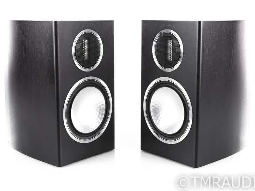 Monitor Audio Gold 100 Bookshelf Speakers; Dark Walnut Pair (1/3) (20640)