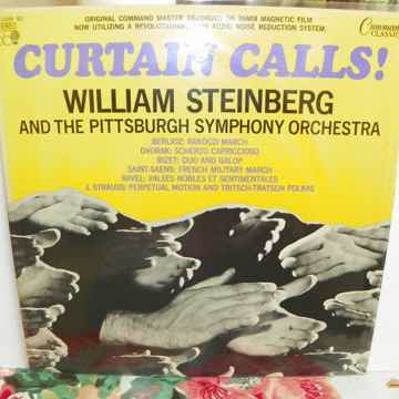 WILLIAM STEINBERG - CURTAIN CALLS PITTSBURGH SYMPHONY O...