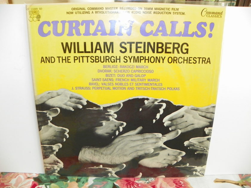 WILLIAM STEINBERG - CURTAIN CALLS PITTSBURGH SYMPHONY ORCH. Very Rare + NM
