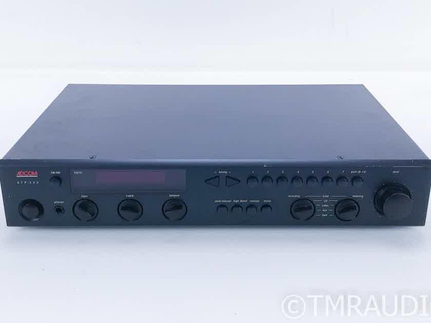 Adcom GTP-350 Stereo Preamplifier / AM / FM Tuner GTP350 (16680)