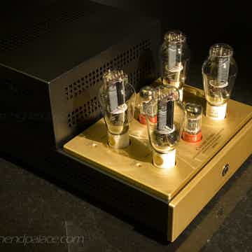 Pure CLASS A monoblocks with four 300B tubes