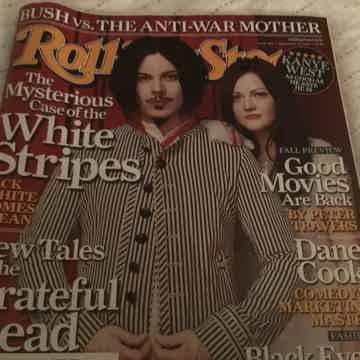 The White Stripes Rolling Stone Magazine 2005