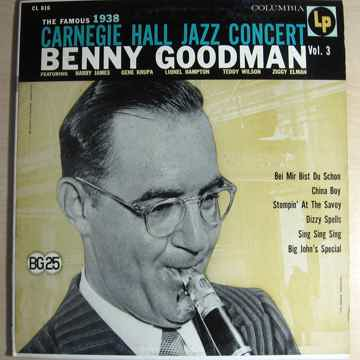 Benny Goodman The Famous 1938 Carnegie Hall Jazz Concer...