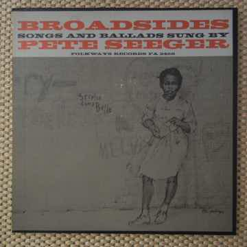Pete Seeger - Broadsides Songs and Ballads Folkways Rec...