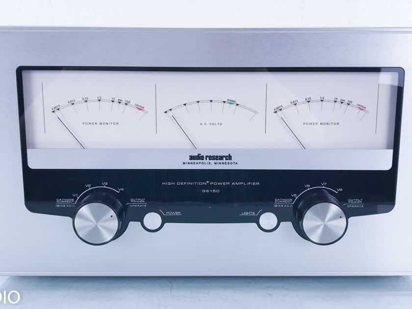 Audio Research GS150 Stereo Tube Power Amplifier GS-150 (15433)
