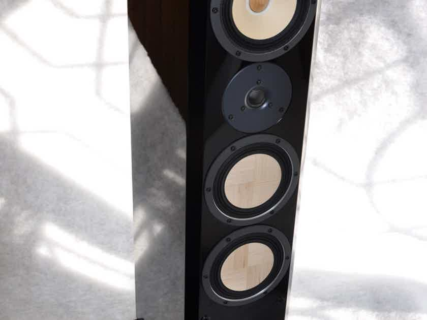 Contrast Audio Black Moon - hand crafted in Kiev - from top to bottom